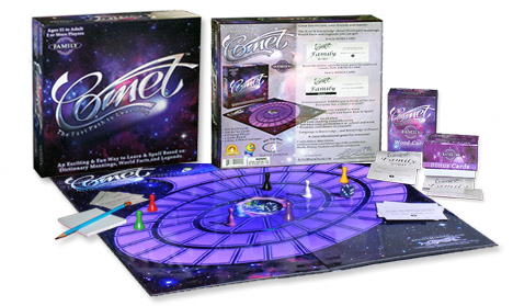 An image of the Comet Family Edition Game